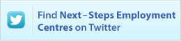 Find Next-Steps Employment Centres on Twitter