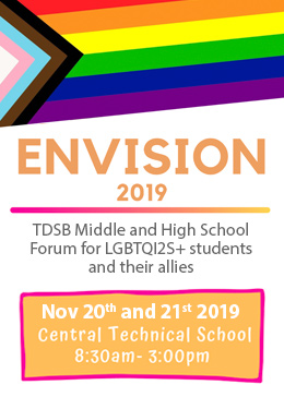 Envision Conference 2019 poster