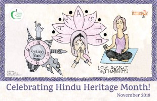 Hindu Heritage Month Poster