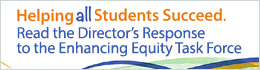 Directors Response to the Enhancing Equity Task Force