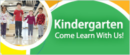 Kindergarten Come Learn With Us
