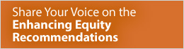 Share Your Voice - Enhancing Equity Task Force Recommendations