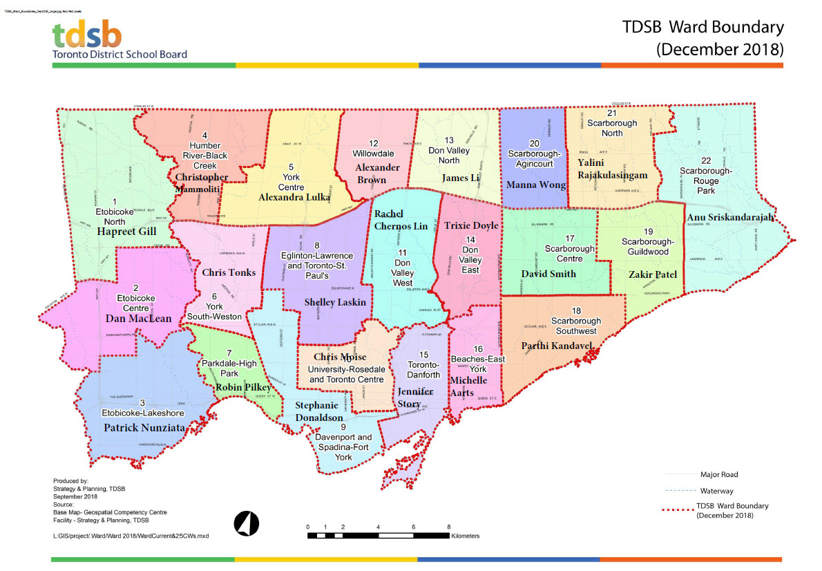 TDSB ward boundaries