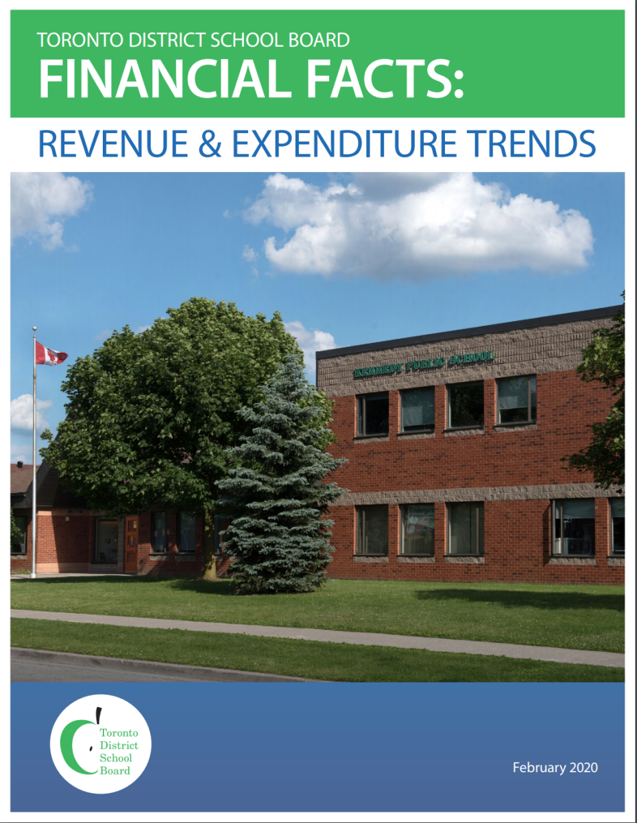 TDSB Financial Facts 2019 report