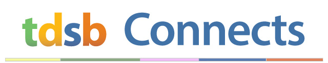 Image banner with the words TDSB Connects