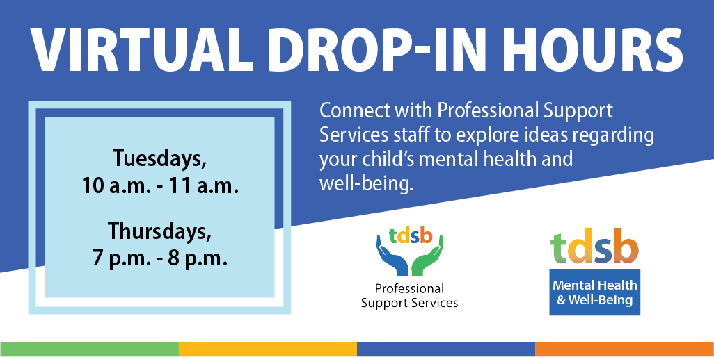 Virtual Drop-In Hours