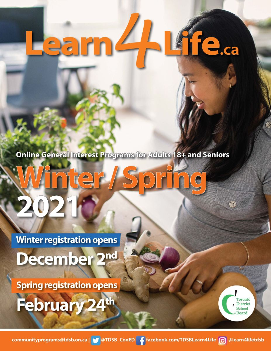 Learn4Life Winter Spring 2021 Brochure cover