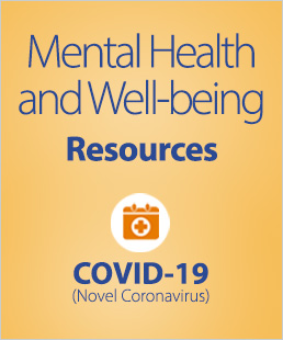 Mental Health and Well-Being Resources