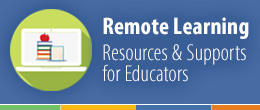 Remote learning promo