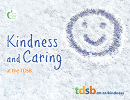 Kindness and Caring at the TDSB