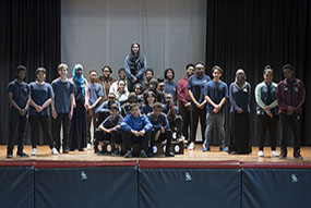 TDSB students performing a play