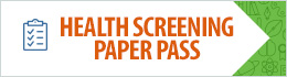 Health Screening Paper Pass