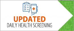 Updated Daily Health Screening