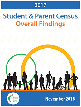 TDSB 2017 Student and Parent Census Overall Findings