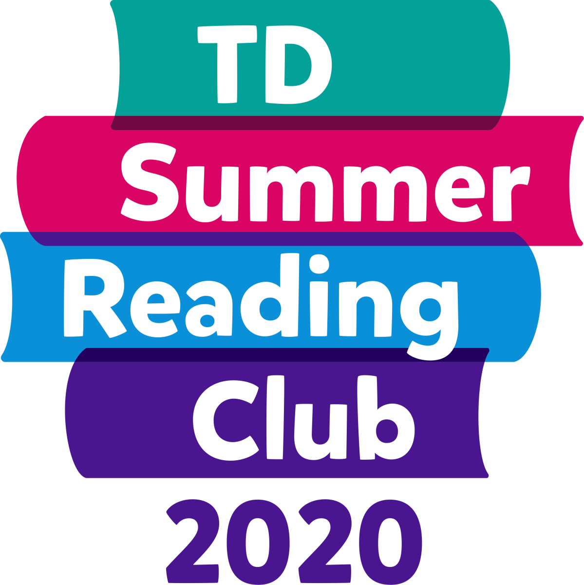 TD Summer Reading Club 2020 logo