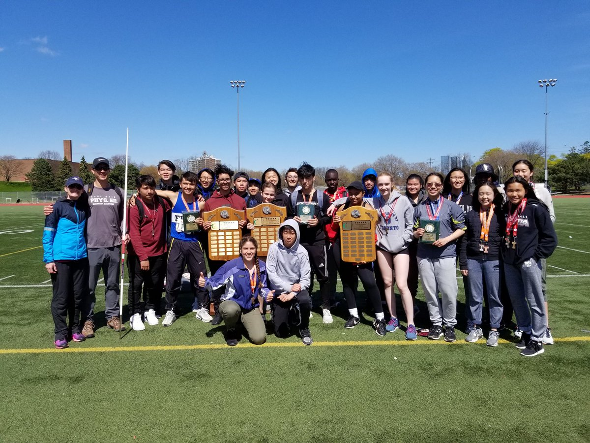 Earl Haig Overall Champions Track and Field
