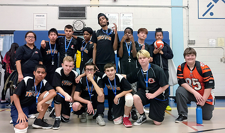Bendale Business and Technical Institute Boys Volleyball team