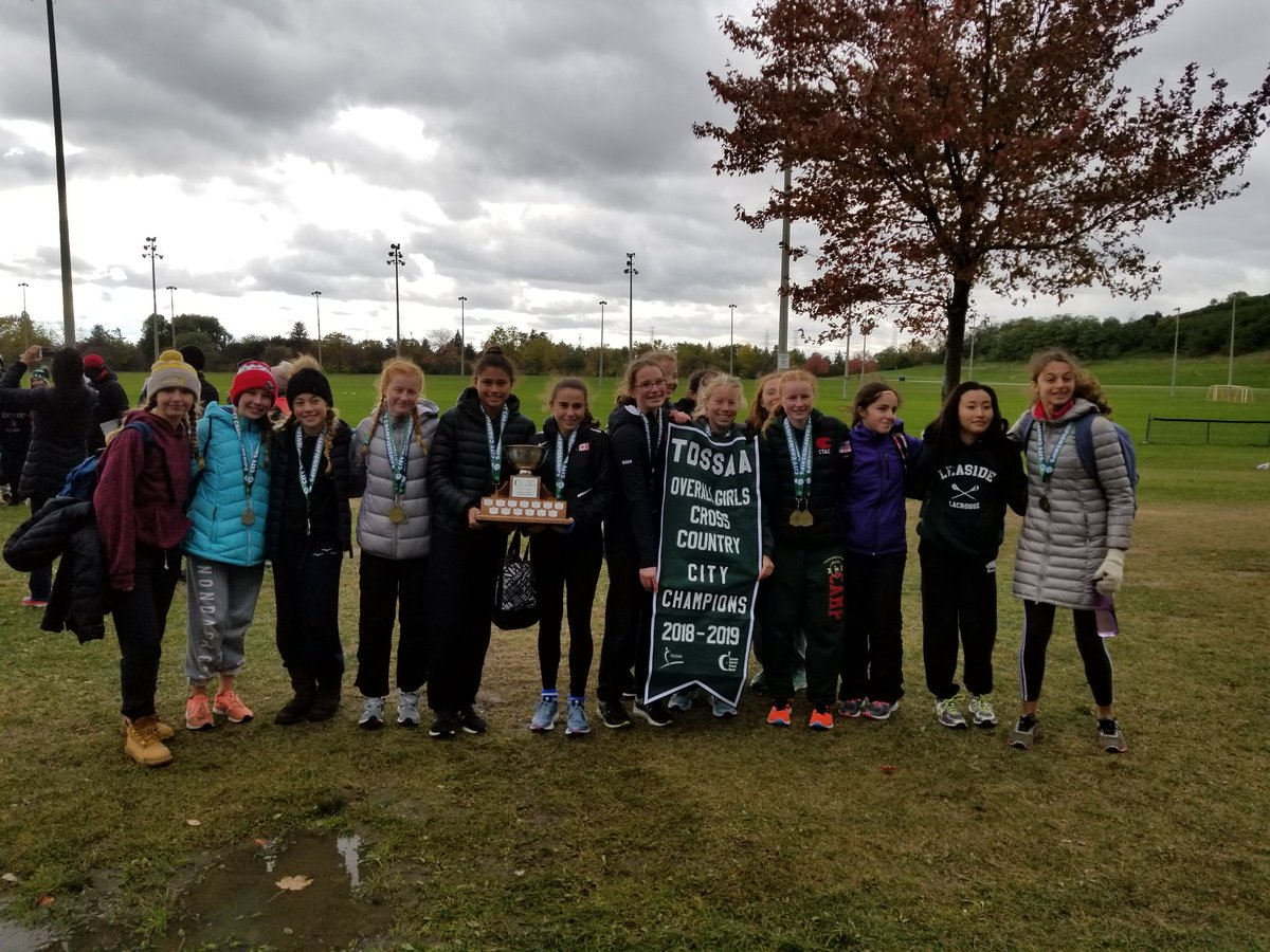 Overall Girls Cross Country Leaside