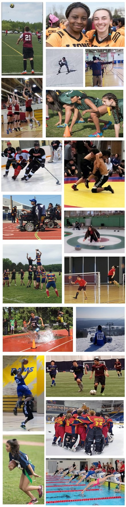 TDSB Sport Collage