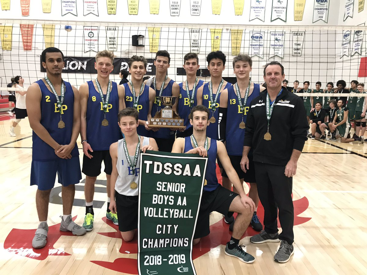 Birchmount Park CI took home the 2018-2019 Senior Boys AA Volleyball championship! To see more photos, visit the Photo Gallery.
