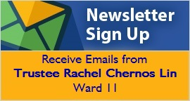 Sign Up for Trustee Chernos Lin's e-Newsletter