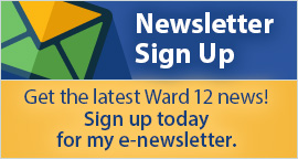 Sign up for Ward 12 newsletter