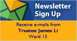 Sign up for Ward 13 newsletter