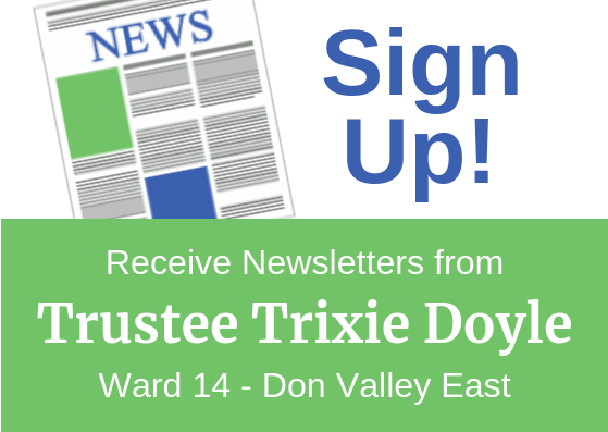 Sign up for Ward 14 newsletter