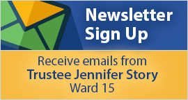Sign up for Ward 15 newsletter