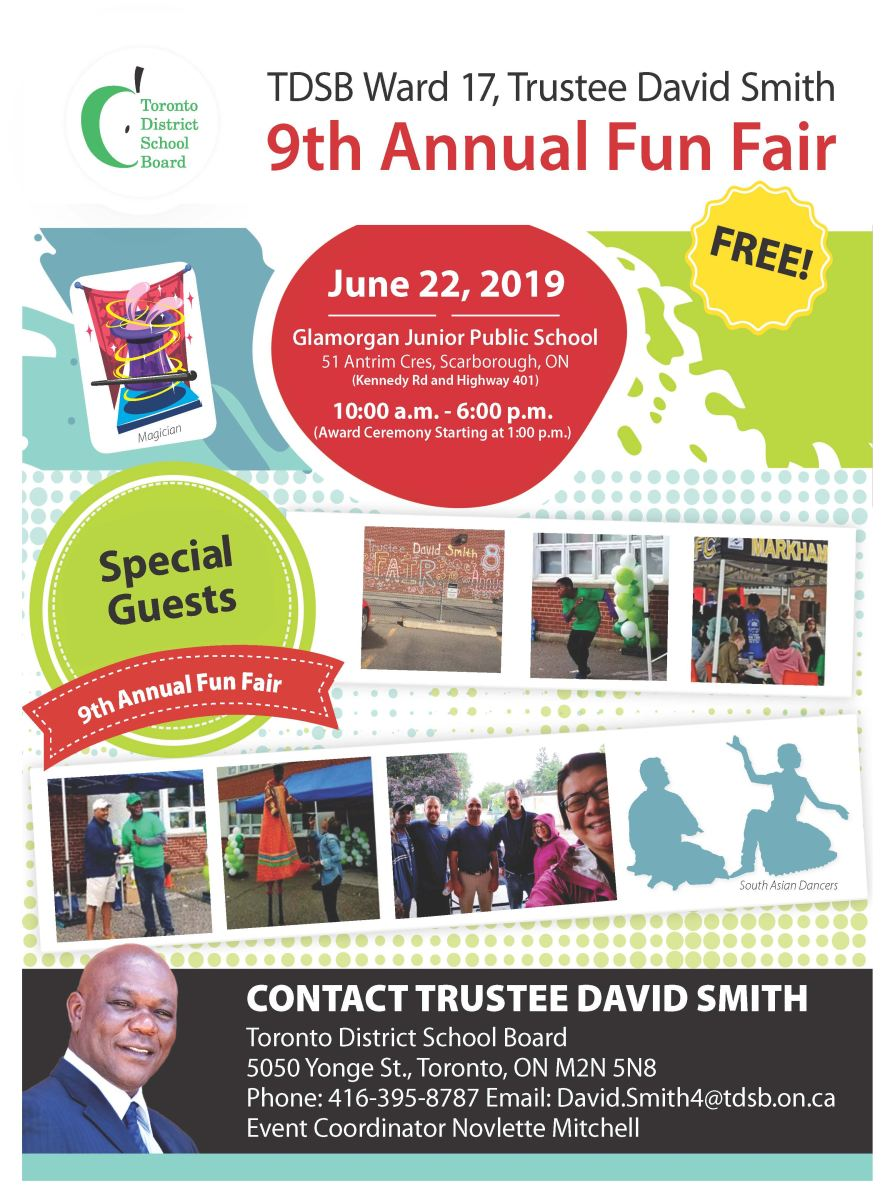 9th Annual Fun Fair Poster