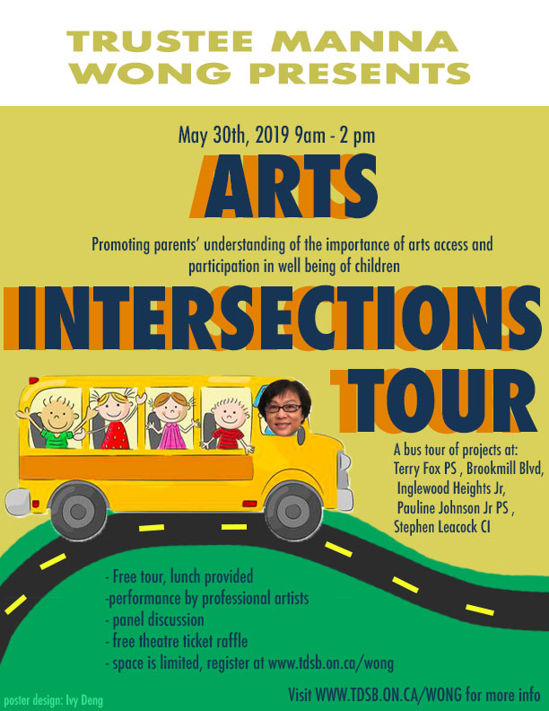 Arts Intersections Tour on May 30, 2019, 9:00 am to 2:00 am