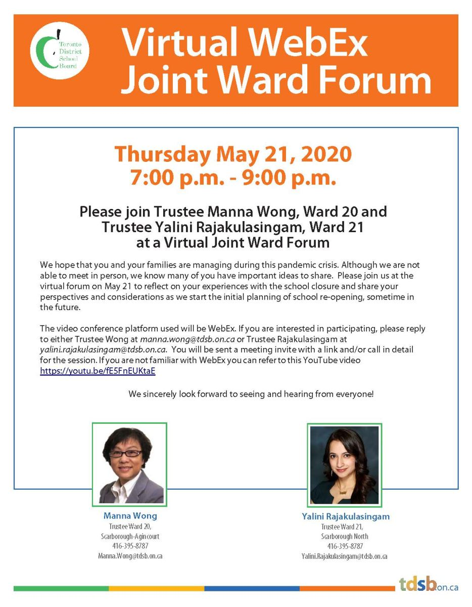 Virtual Joint Ward Forum