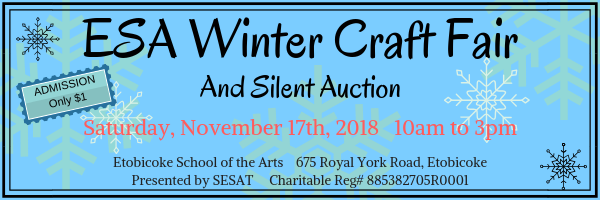 Craft Fair Header 2018