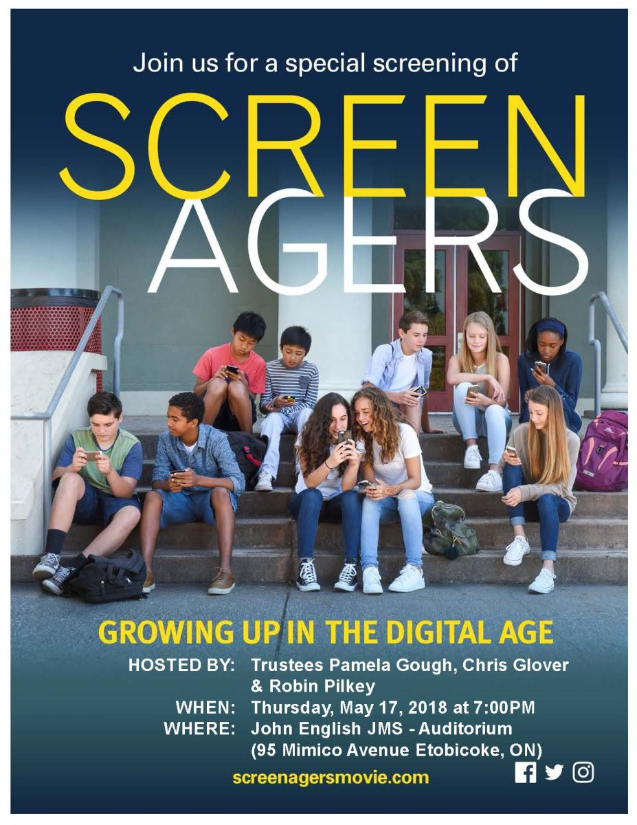 Screenagers - May 17th